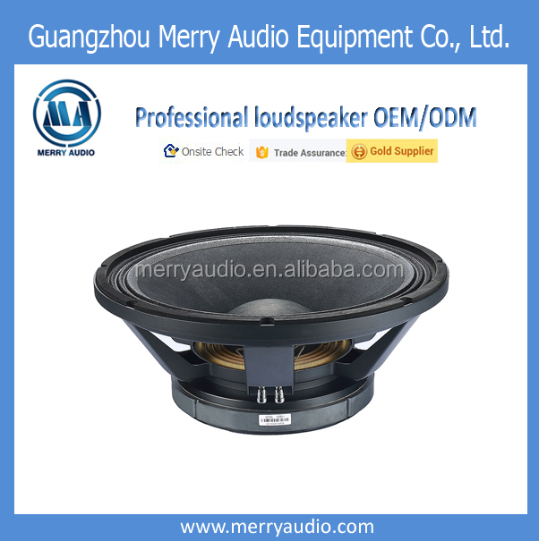 China high power 18 inch professional speaker subwoofer pa speaker woofer with wholesale price