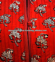New Indian Womens Handmade Cotton Coat Quilted Jacket in Clothing