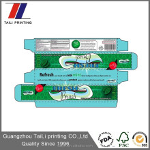 design toothpaste packaging cosmetic paper box