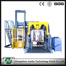 Full automatic zinc flake coating machine have single basket max capacity 2000kg/h