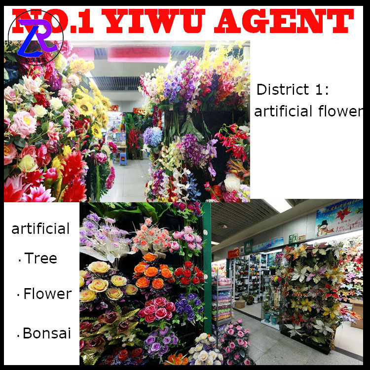 China Yiwu Market Artificial Flowers Purchasing <strong>Agent</strong>
