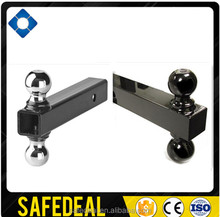 2 Towing Receiver Traveller Multi Double Hitch Ball Mount