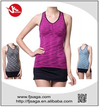 Seamless running fancy tank tops for women