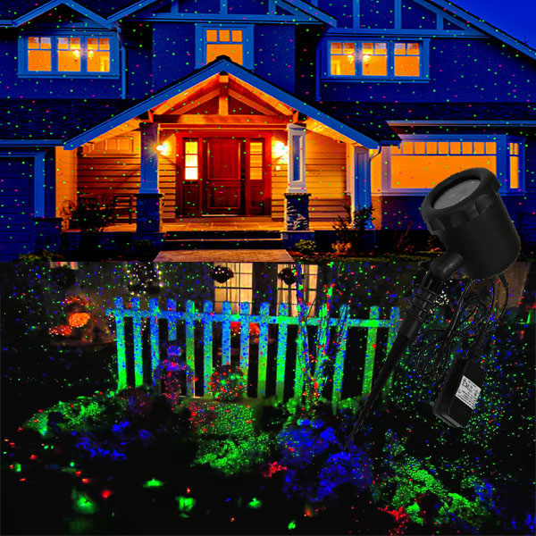 christmas decorations light poles holiday light projector shower
