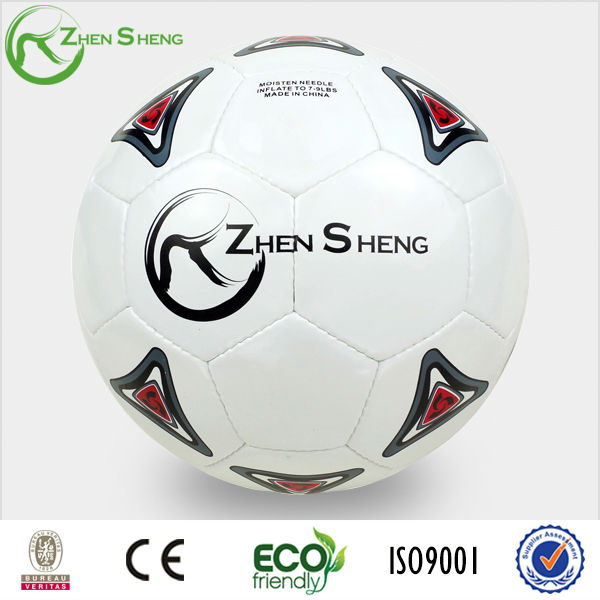 Zhensheng PVC hand sewn soccer ball for team use