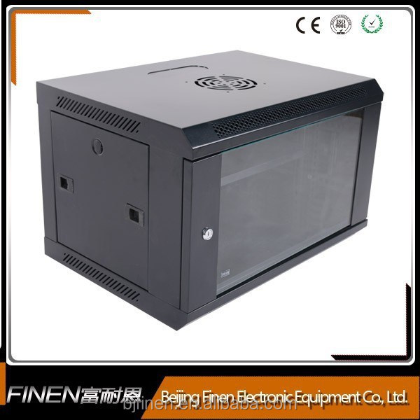 New style 19 inch classic 9U wall mount network hdd internal rack enclosure