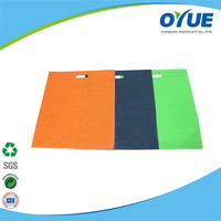 New design Wholesale cheap recyclable folded non woven bag