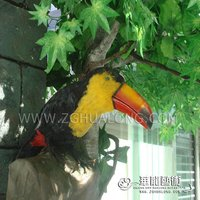 Public craft outdoor Imitate animatronic bird