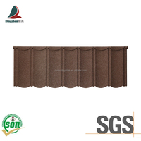 Nigeria popular bond type stone coated steel roofing tile