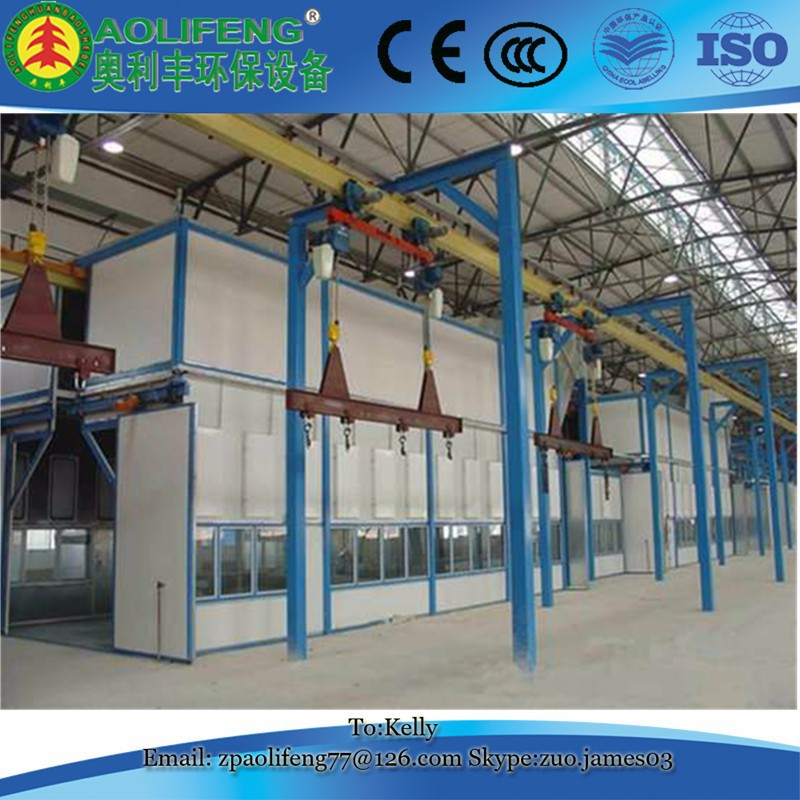 High efficiency Metal Automatic Powder Painting Production Line
