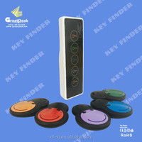 Newest design electronic key finder with 1 sender and 5 trackers from Shenzhen factory
