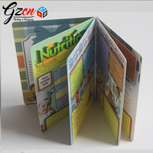 OEM & ODM custom printing children hick cardboard education board book
