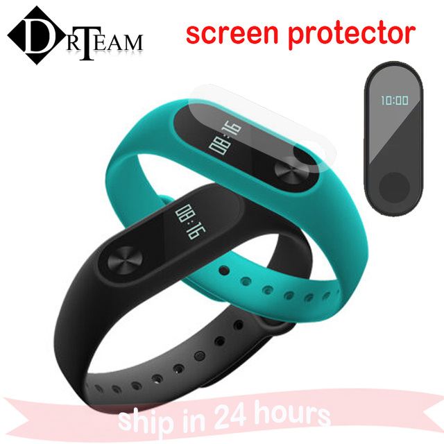 2Pcs/Set For Xiaomi Mi Band 2 Screen Protector Ultrathin Anti-explosion Protector Film For Xiaomi Mi Band 2 Smart Wristband