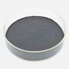 The manganese alloy additive melts to adjust the Mn content in the synthetic aluminum alloy