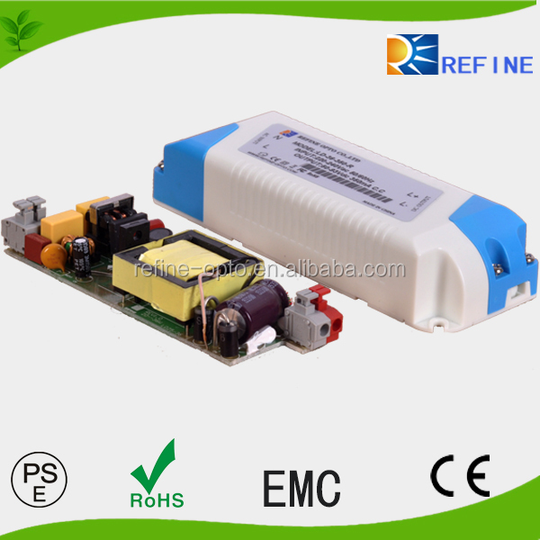 HOT sale1 high performance constant current dimmable led driver With CE Rohs PSE