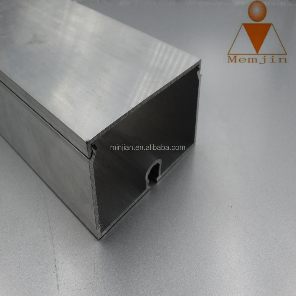 Aluminium Rectangular Box Section Extrusions Square