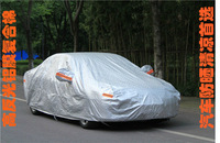 Professional al+pp fabric car sunshade cover at factory price