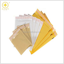 China kraft bubble laminated bag/high quality kraft paper bubble mailer/air bubble envelope bag