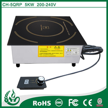 5000ww food equipment buffet microcompute flat induction cooker in commercial