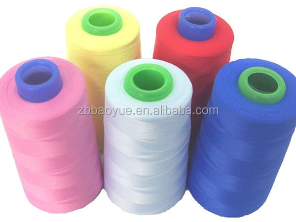 Colorful polyester Industrial Sewing Thread