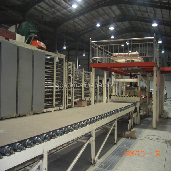 gypsum ceiling board making machine for PVC faced and alumim film