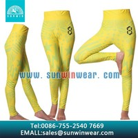 Wholesale sublimation printing girls leggings/tights