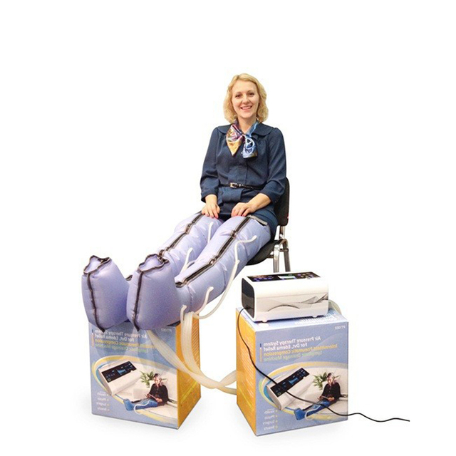 beauty salon air compression limb massage pressure therapy boots