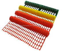 Colorful traffic safety fence barrier for roadway safety
