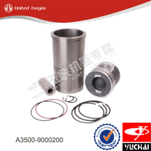 Yuchai cylinder liner kit A3500-9000200* for YC6A