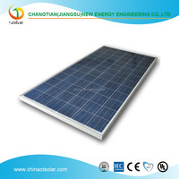 270W poly solar module with TUV ISO certificates