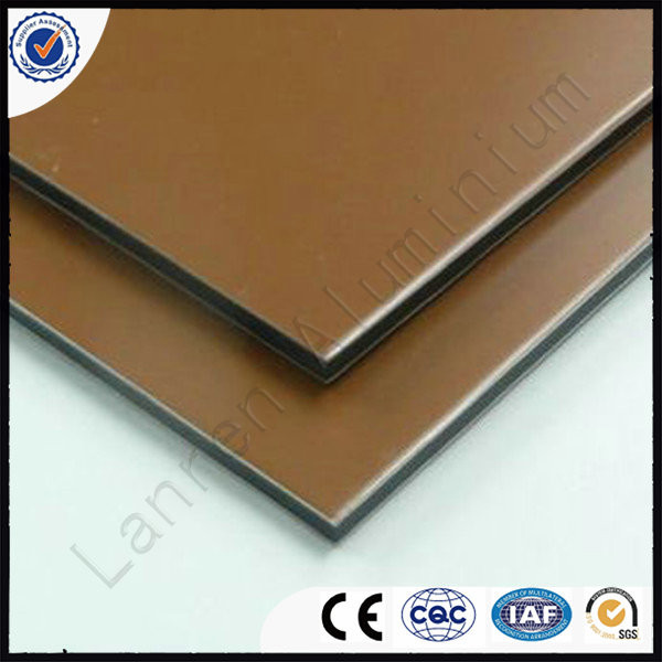 normal thickiness size PVDFaluminum composite panels based on customers requirement