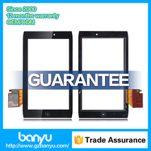 High quality cheap price replacement lcd touch screen for acer iconia a100 digitizer
