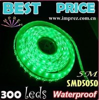 2012 Best Price DC12V Waterproof IP65 Taiwan Chip Led Strip 60Leds/m Flexible Led Strip 5050