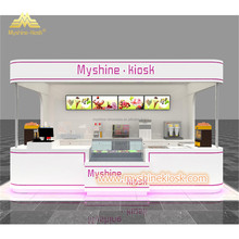 High Quality Modern Mall Retail Food Kiosk Design Idea For Sale