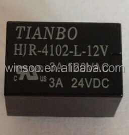 HJR-4102-L-12V 100% NEW TIANBO POWER RELAY