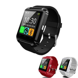 Cheapest Price 1.44 Inch Color TFT Touch Screen Call Function Smart Wrist Watch No Camera Bar Design U8 Smart Watch 2018