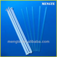 Yiwu agent plastic drink mixing straw wrapping paper