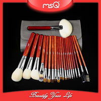 MSQ top quality 21pcs essential cosmetic brush kit