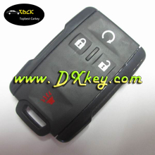 3+1 button car key cover car remote shell for GM key blank