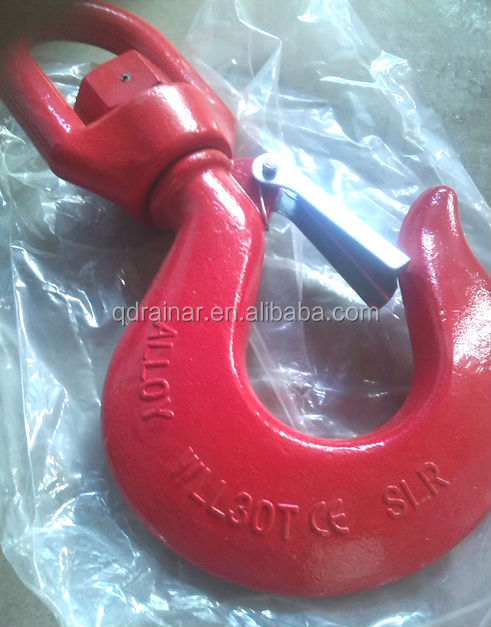 wll 30ton CE paint swivel safety hook