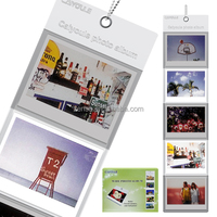 Hang Wall Wide Photo Film Album for Fuji Fujifilm Instax 210 / 300 Wide Instant Film Camera