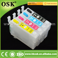 T0731 Refillable cartridge for Epson T10 T11 T20 Wholesale ink cartridge with Auto Reset Chip