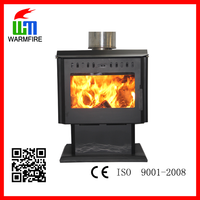 Classic CE Insert WM204A-2500, Metal Wood Burning Fireplace