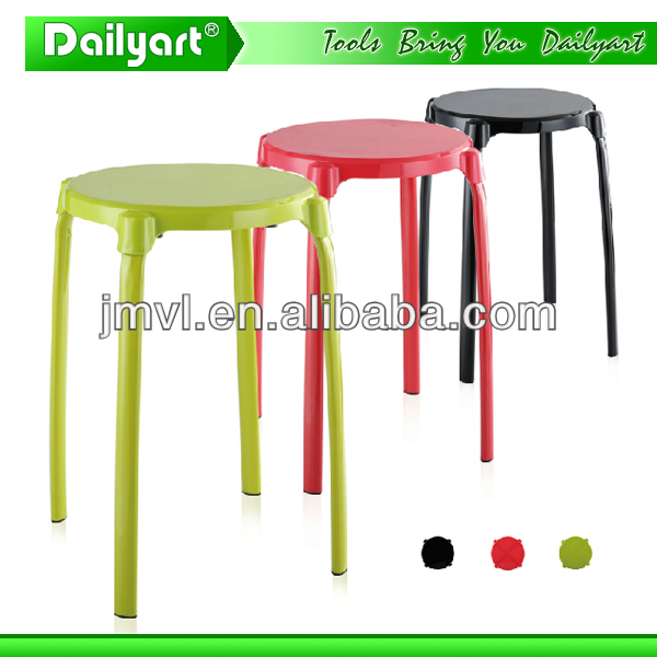 (V052003) Multipurpose metal round lab stool