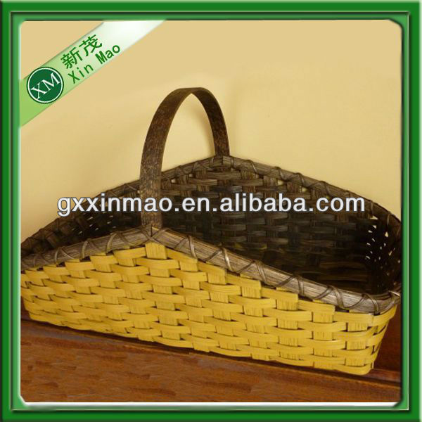 woven bamboo basket, cheap basket in bulk wholesale