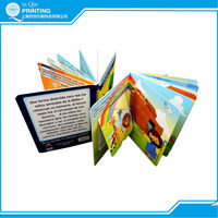 Children favourite full colour pop up book printing