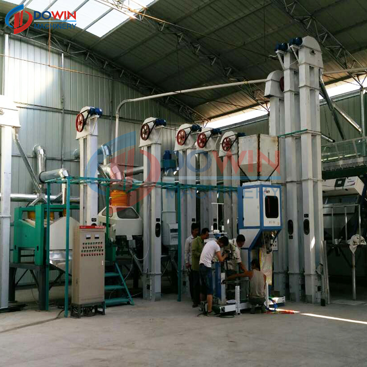 rice mill machine structural durability reasonable price elegant design rice mill machine hulling and polishing rice