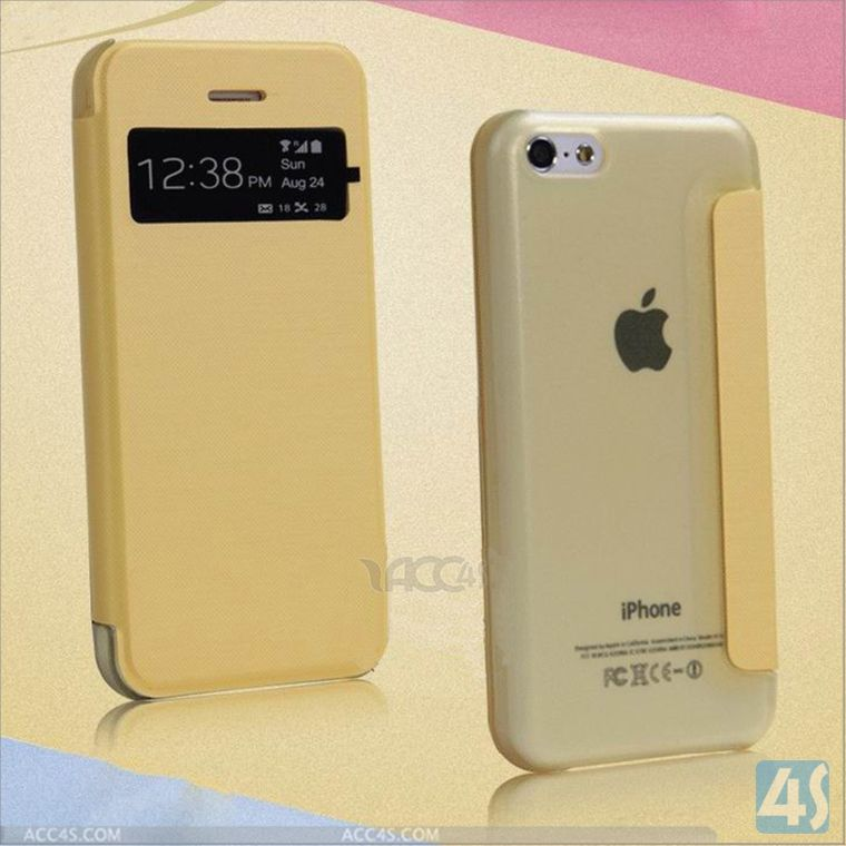 dropship new product Leather case for iphone 5c housing P-IPH5CCASE020