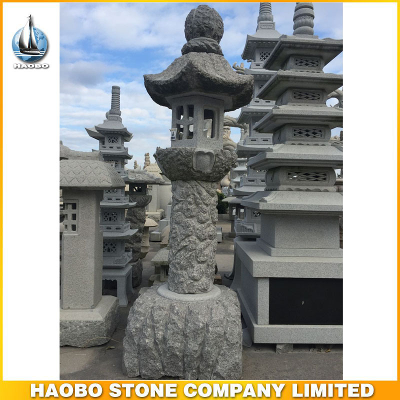Cheap Outdoor Garden Granite Chinese Stone Lantern