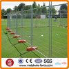Temporary portable removable safety fencing